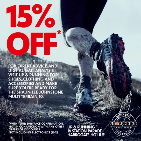 Get Race Ready with 15% OFF at Up & Running Harrogate